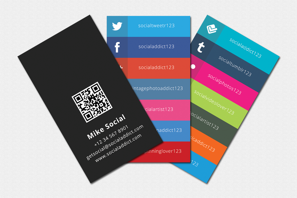 11 free social media icons for business cards images  business