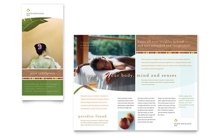 8 Spa Brochure Design Images Medical Brochure Design Spa Brochure