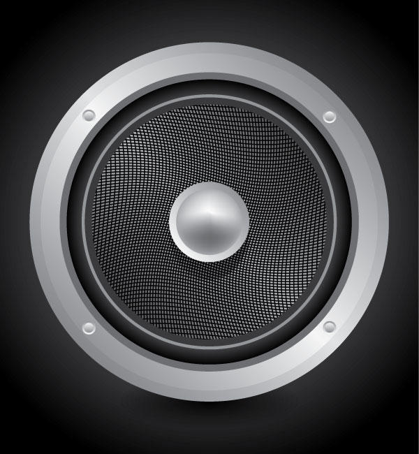 Speaker Vector Art