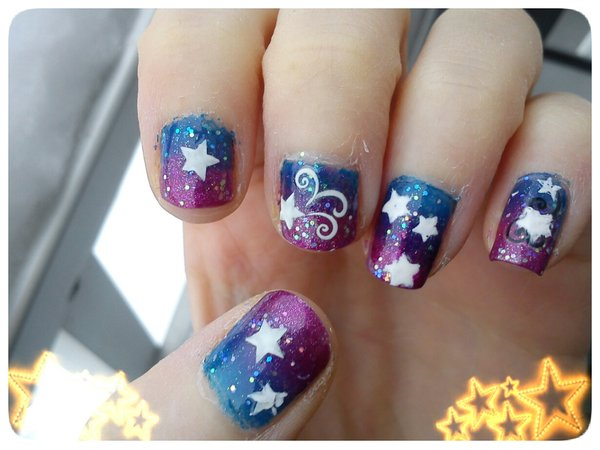 15 Star Nail Designs Images