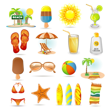 12 Free Summer Vector Images