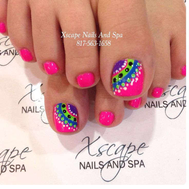 16 Summer Toe Nail Designs 2015 Images