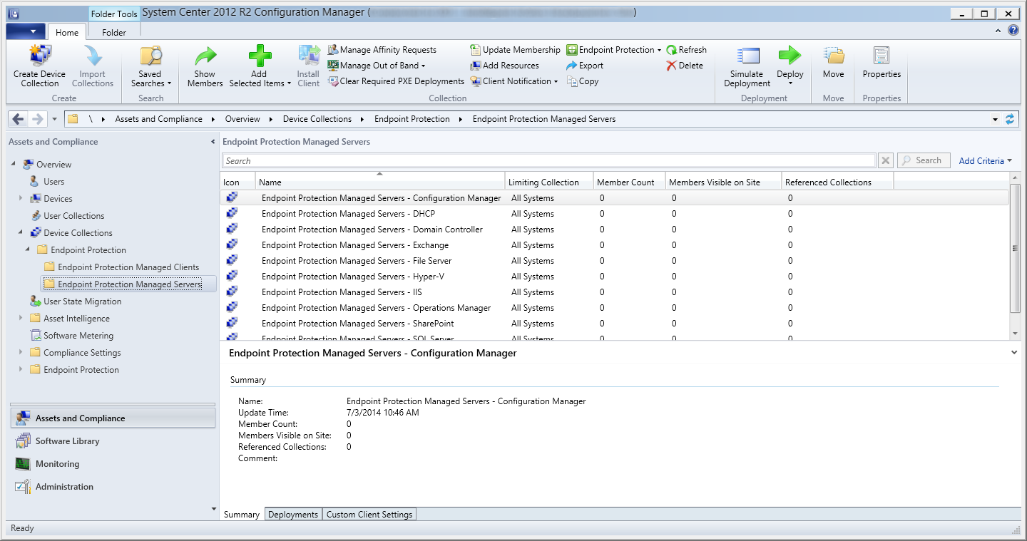 System Center Configuration Manager 2012 R2