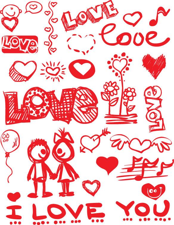 Valentine's Day Vector Graphics