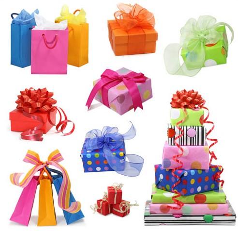 Vector Birthday Gifts