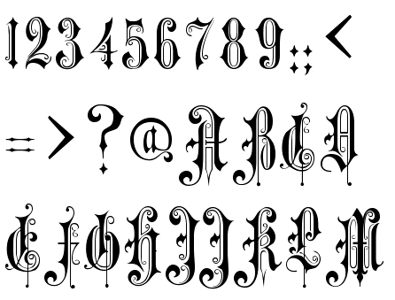 Victorian Gothic Font
