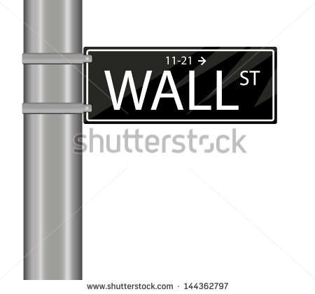 Wall Street Sign Vector