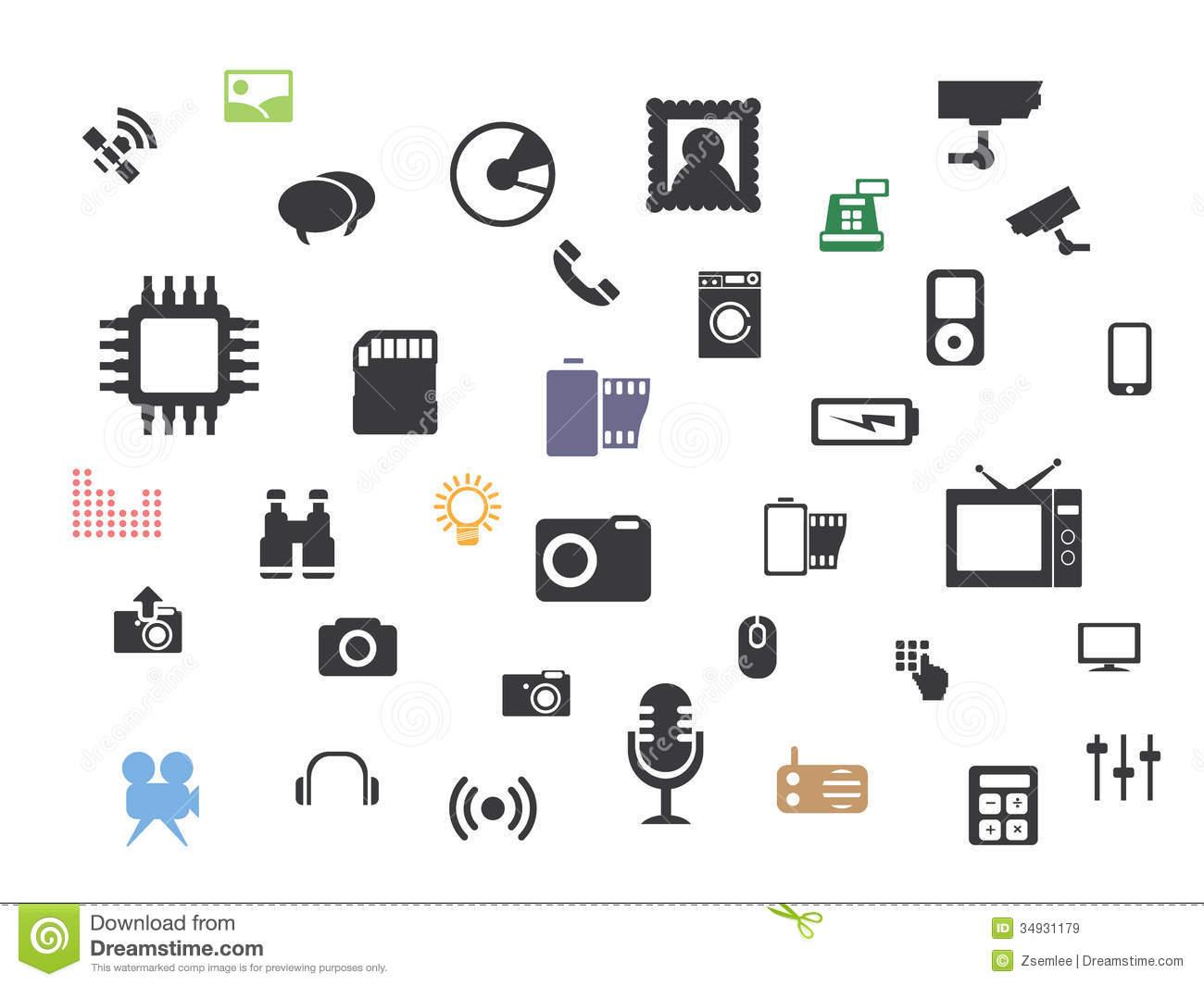 Web Multimedia Icons Free