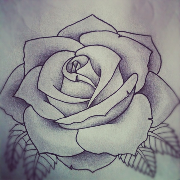 White-Roses-Tattoo-Design