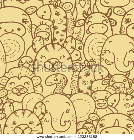 Wild Animals Pattern