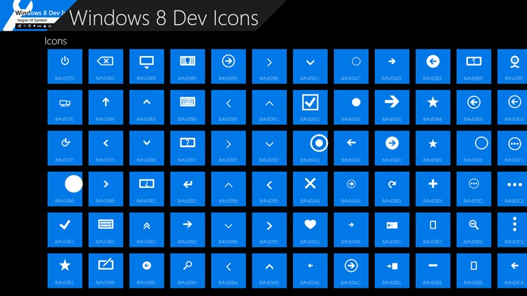 16 Windows Store App Icon Images