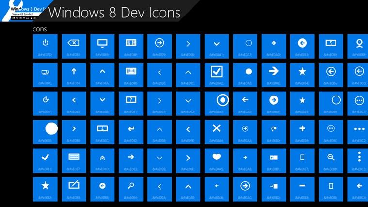 Windows 8 App Icons