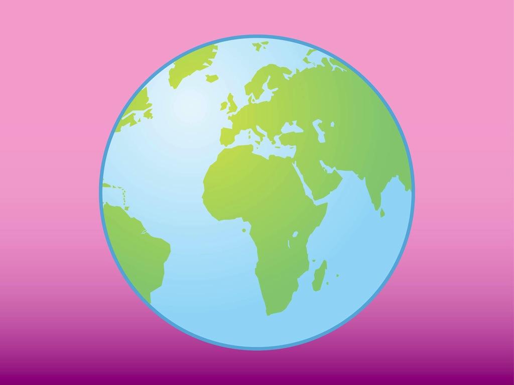 World Icon Vector