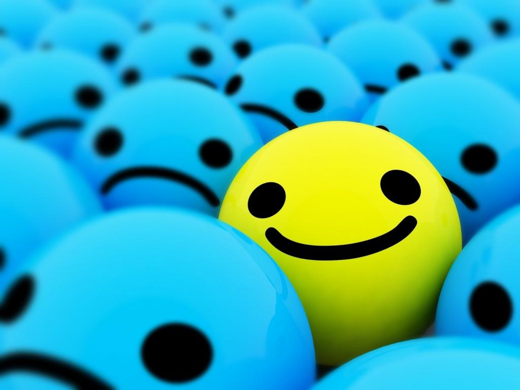 Yellow Emoticon Faces