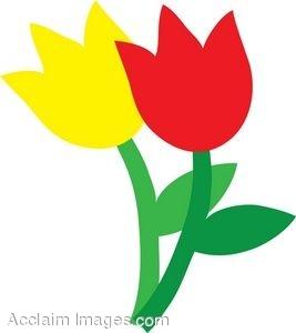 Yellow Tulip Clip Art Free