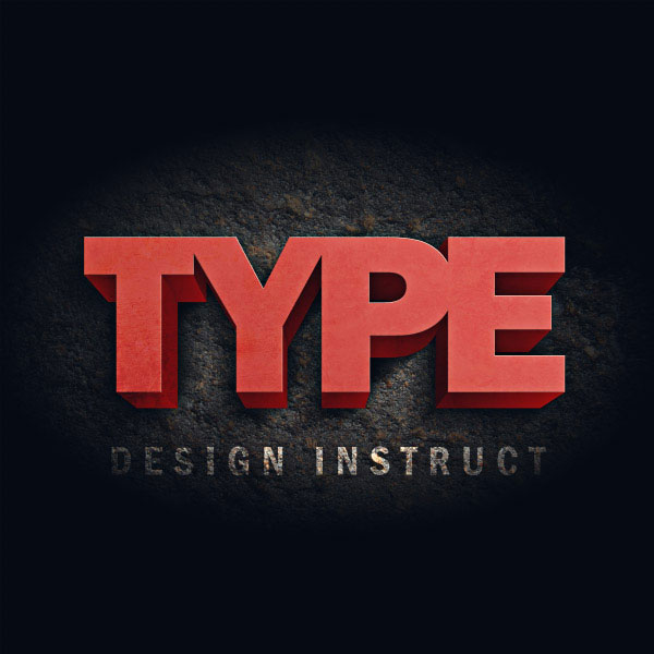 3D Text Photoshop Tutorial