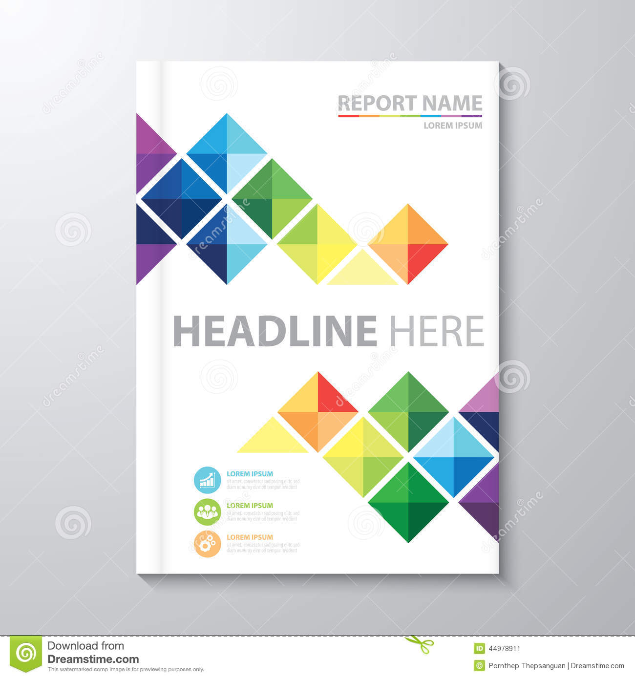 12 Annual Report Cover Page Templates Images