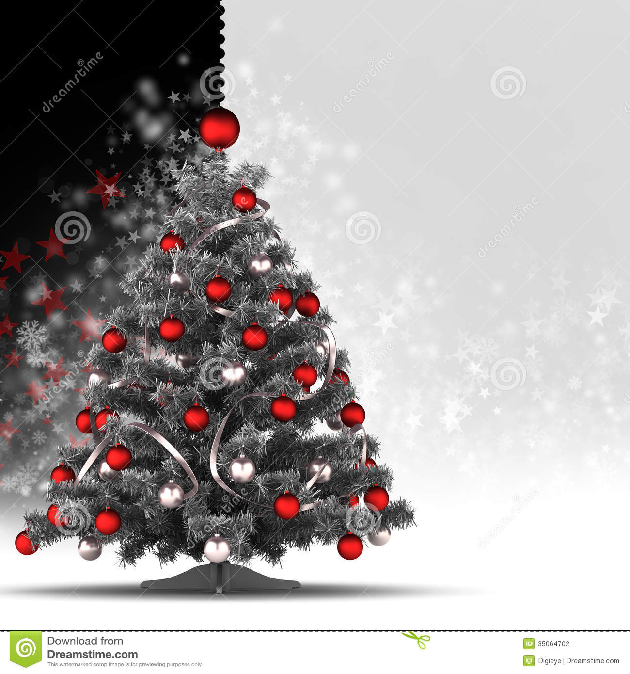 15 black and white christmas card templates psd images for Christmas business card template