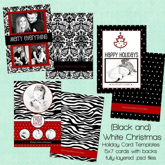 15 black and white christmas card templates psd images free black and white christmas cards. Black Bedroom Furniture Sets. Home Design Ideas