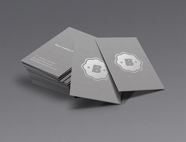 Business Card Mockups PSD