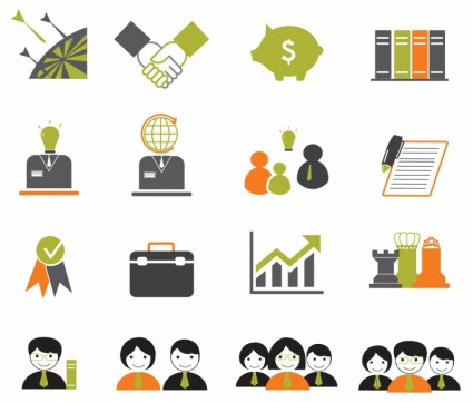 18 Free Vector Graphic Icons Business Images