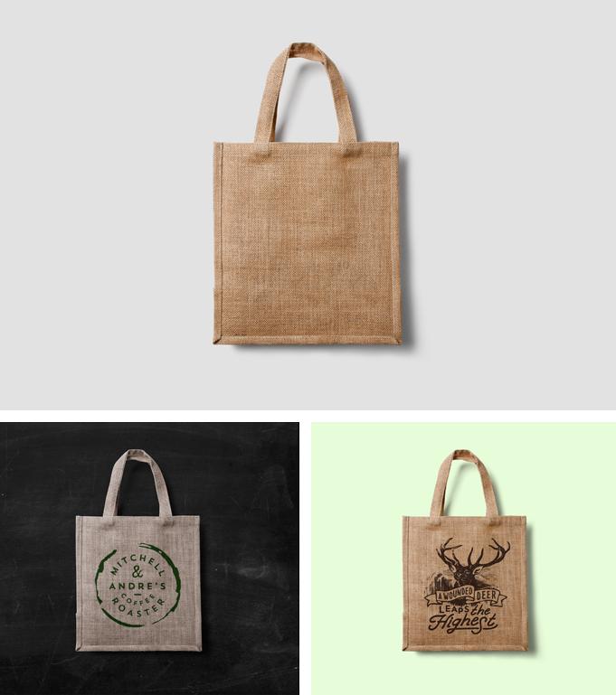Canvas Bag Mockups PSD