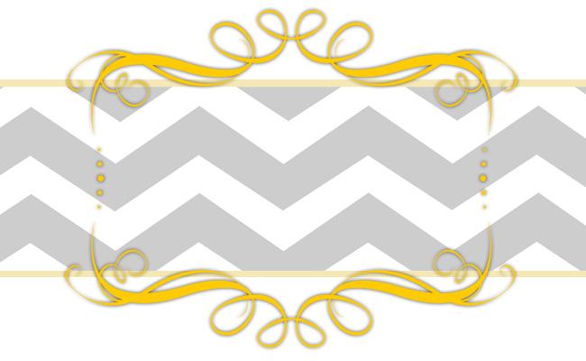 Chevron Banner Template