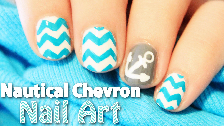 Chevron Nail Art Design