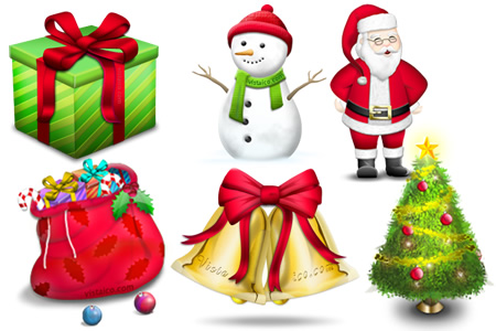 Christmas Email Icons Free