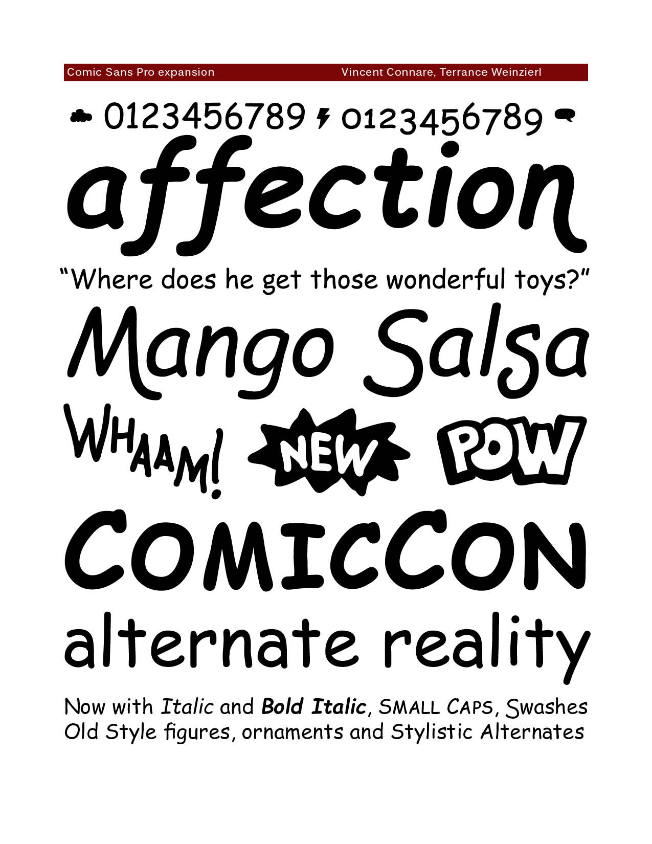 5 Comic Sans Font Images