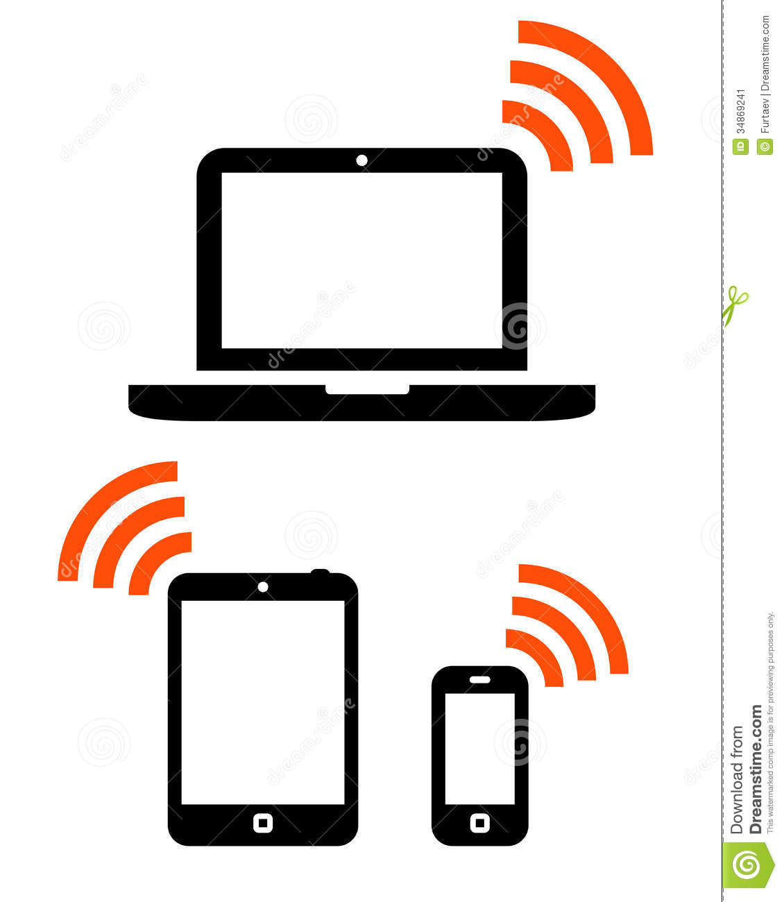 Computer Mobile Device Icon