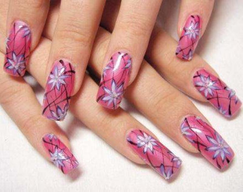12 Cool Easy Nail Art Designs Images