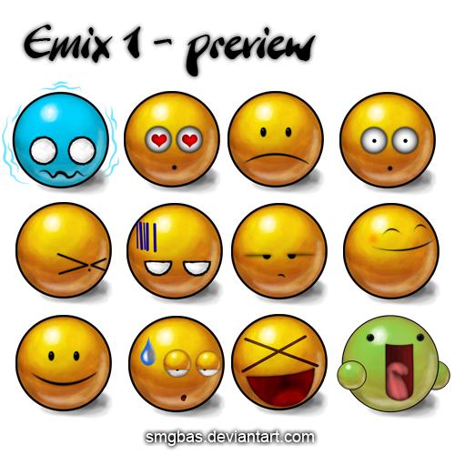 deviantART Emoticons