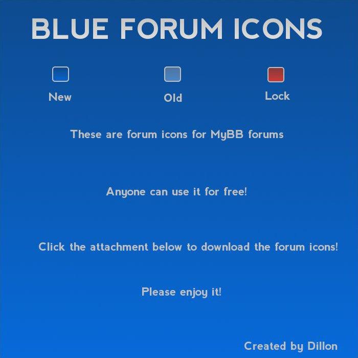 Forum Status Icons