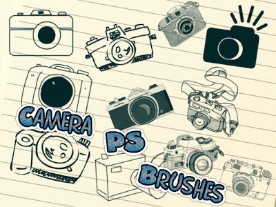 11 Camera Photoshop Brushes Images