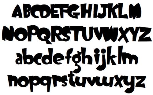 Free Cartoon Fonts