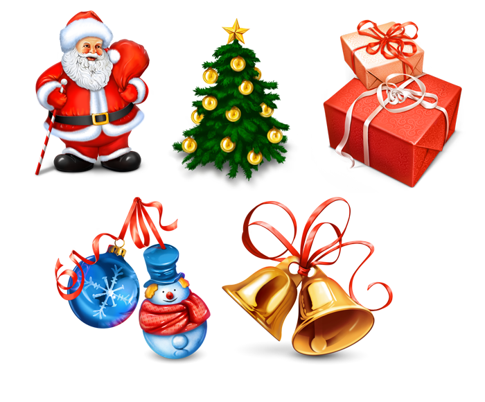 Free Christmas Icons and Clip Art