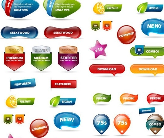 Free Photoshop Buttons Download