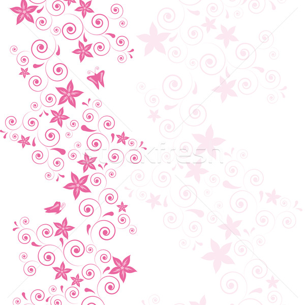 Free Pink Vector Flower