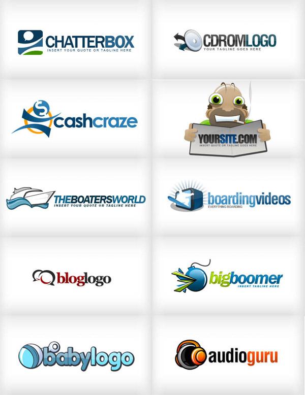 Free PSD Logo Templates