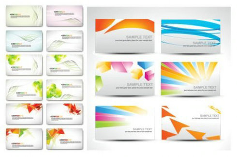 Free Vector Name Card Background