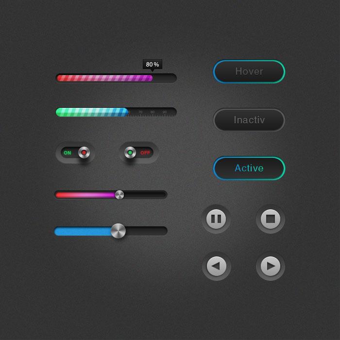 Game UI Design Elements