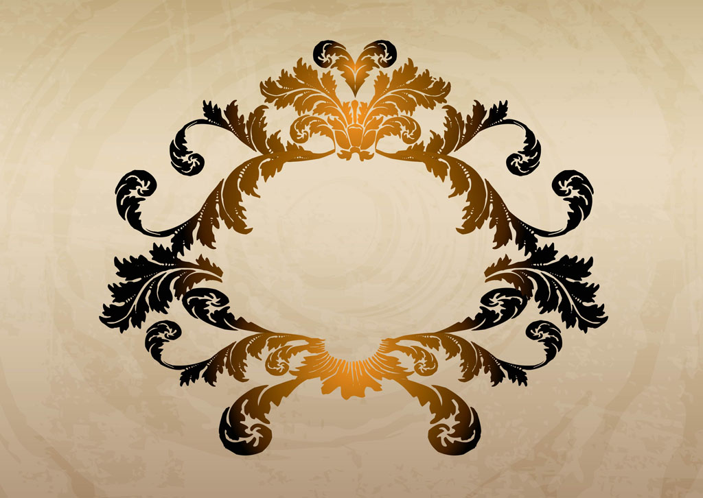 Gold Ornaments Design