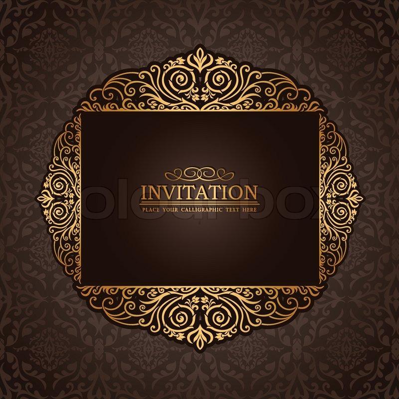 Graphic Design Invitation Card