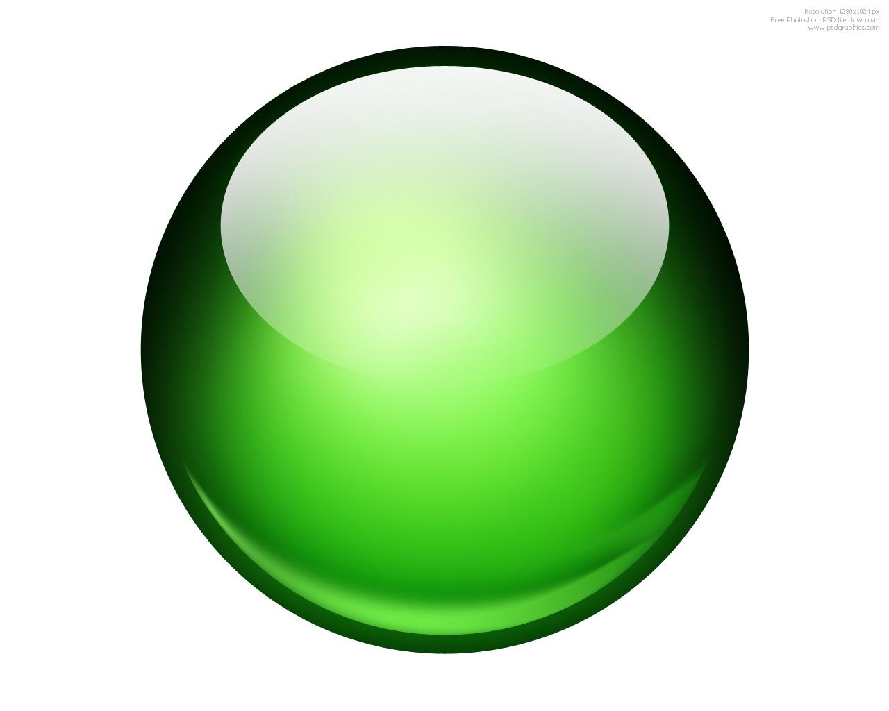 Green Ball Icon