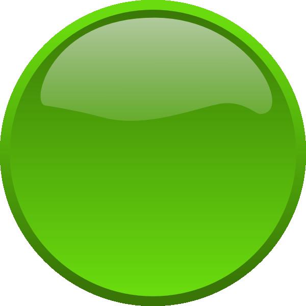 Green Button Clip Art