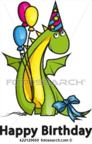 Happy Birthday Cartoon Balloon Clip Art