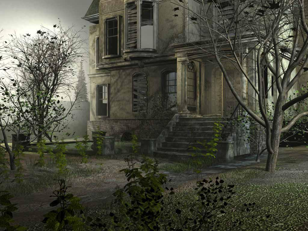 5 Official PSDs Abandon House Images