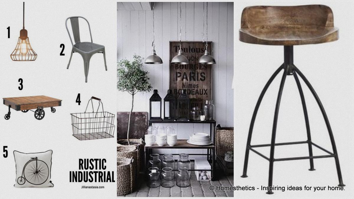 Industrial Rustic Design