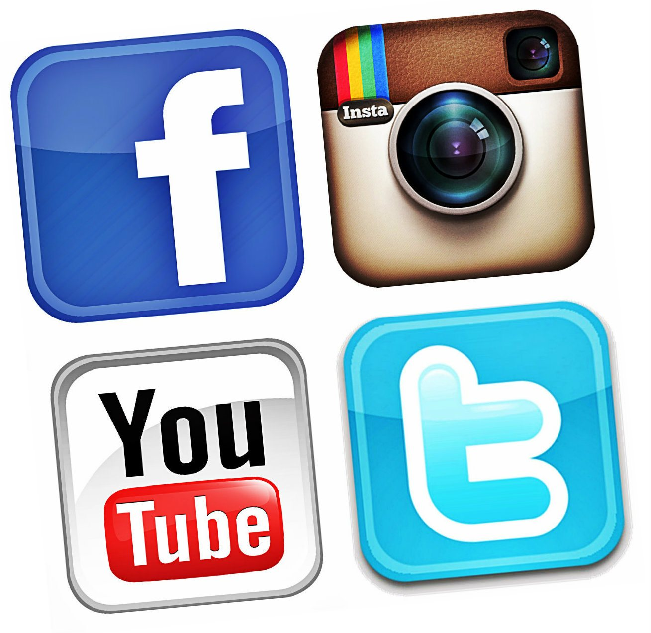 14 facebook twitter instagram youtube icons images